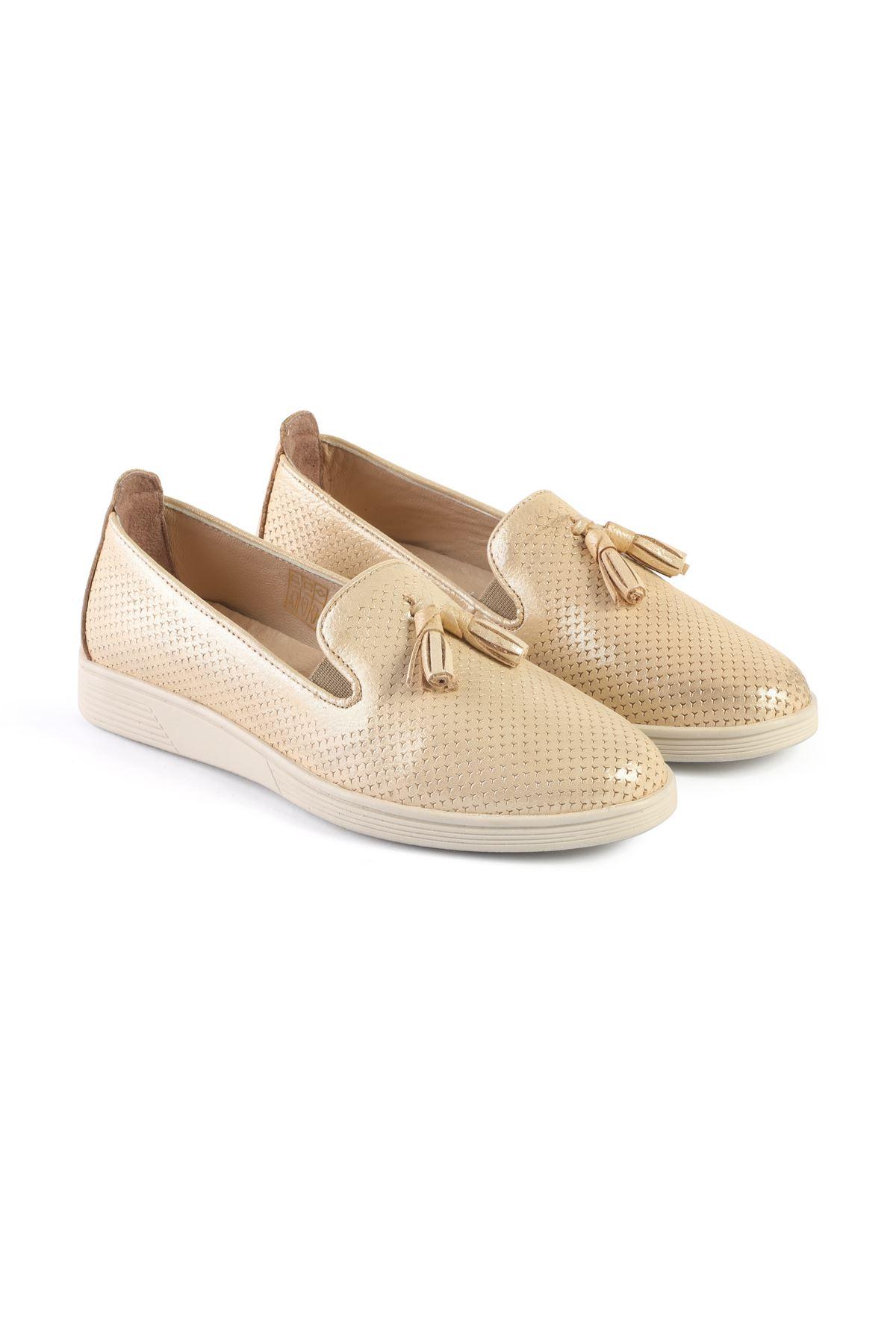 Libero FMS204 Bej Babet Ayakkabı