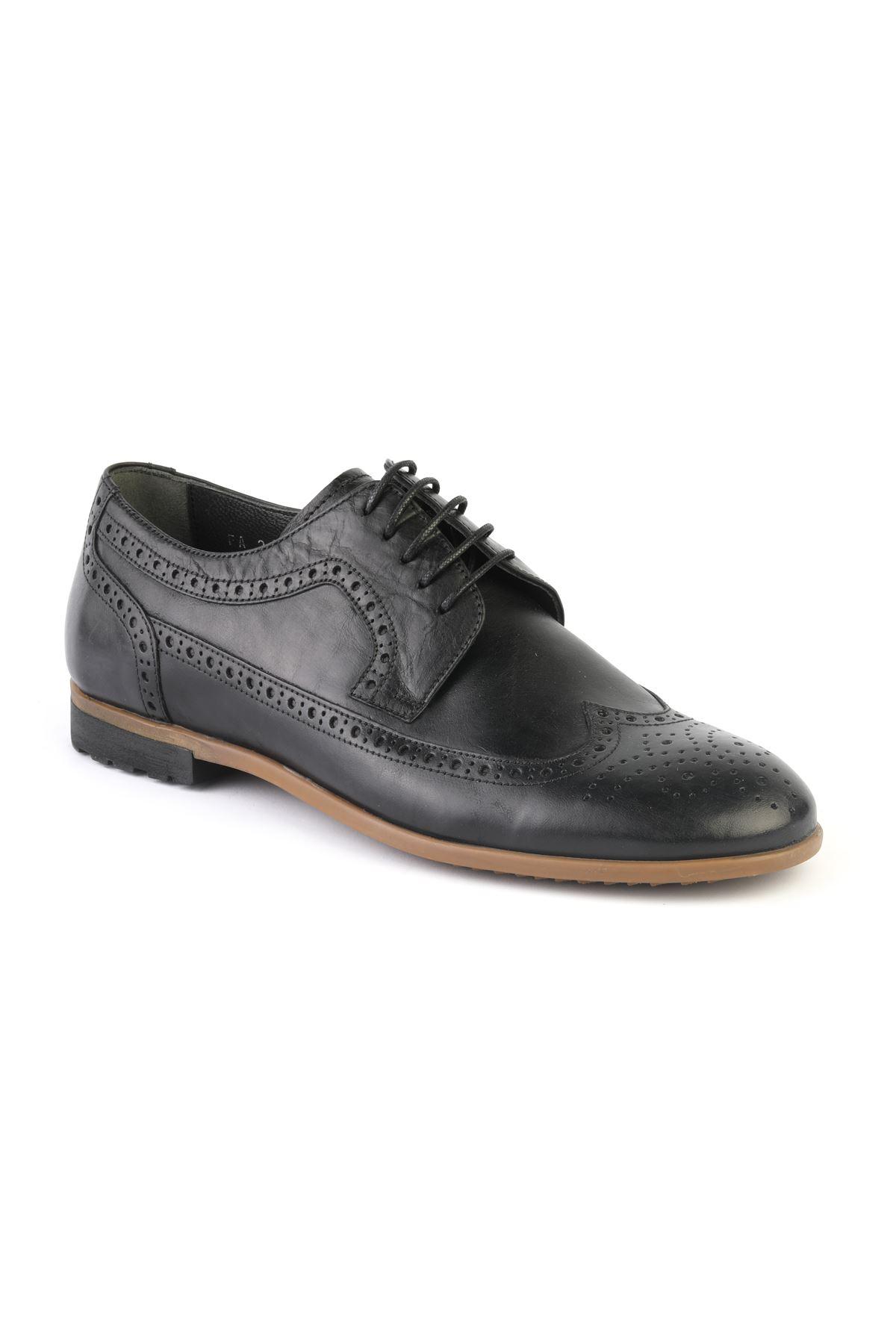Libero T1128 Black Casual Shoes