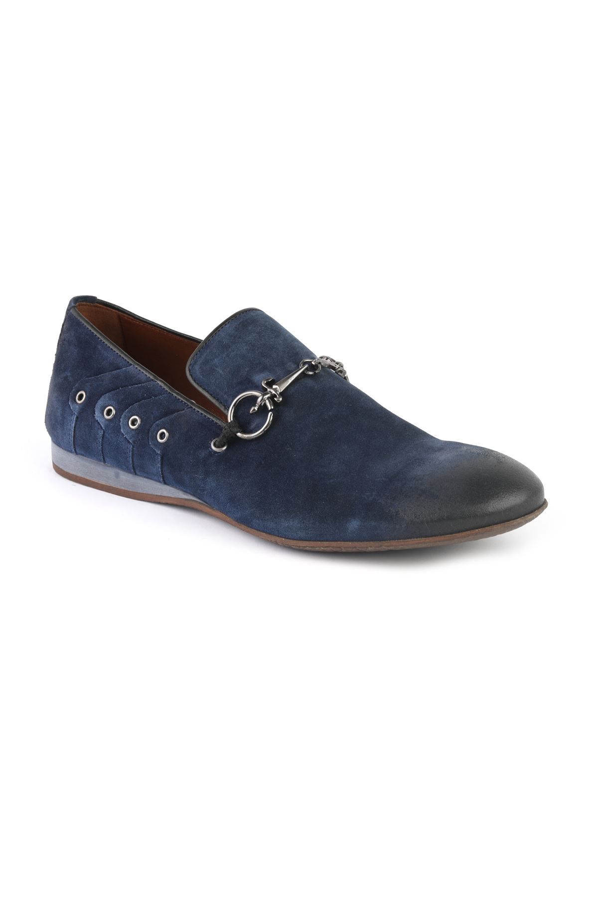 Libero T1115 Navy Blue Loafer Shoes