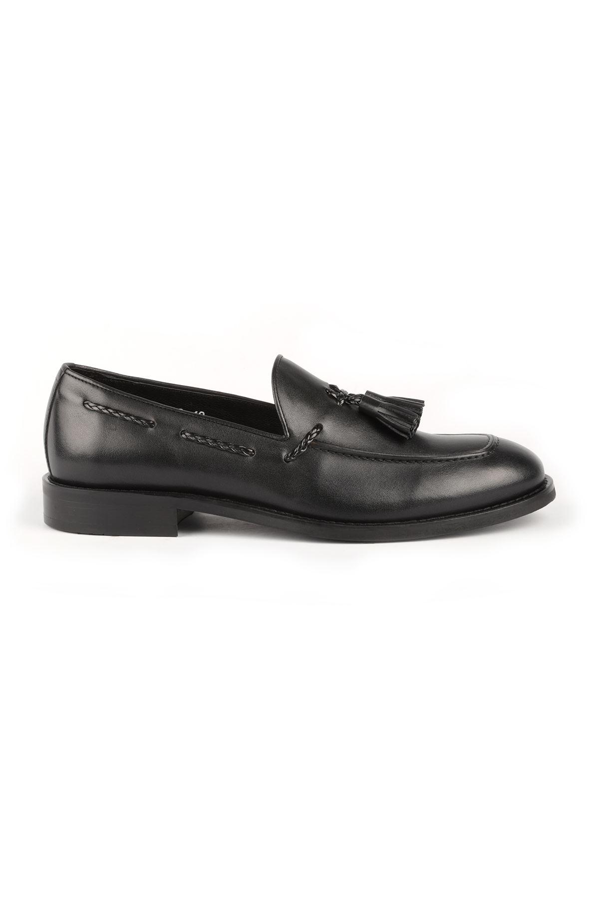 Libero L3562 Black Loafer Casual Shoes