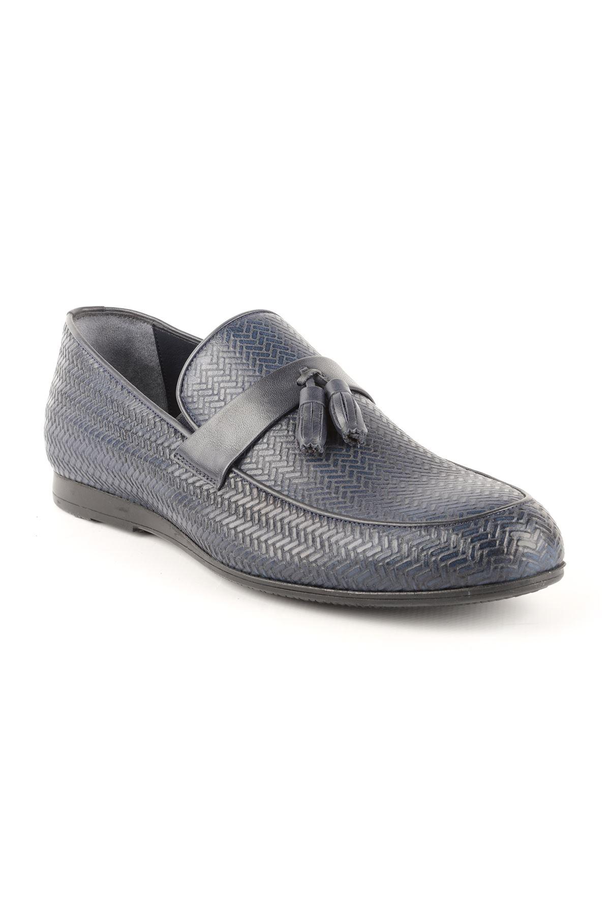 Libero T1422 Lacivert Oxford Ayakkabı