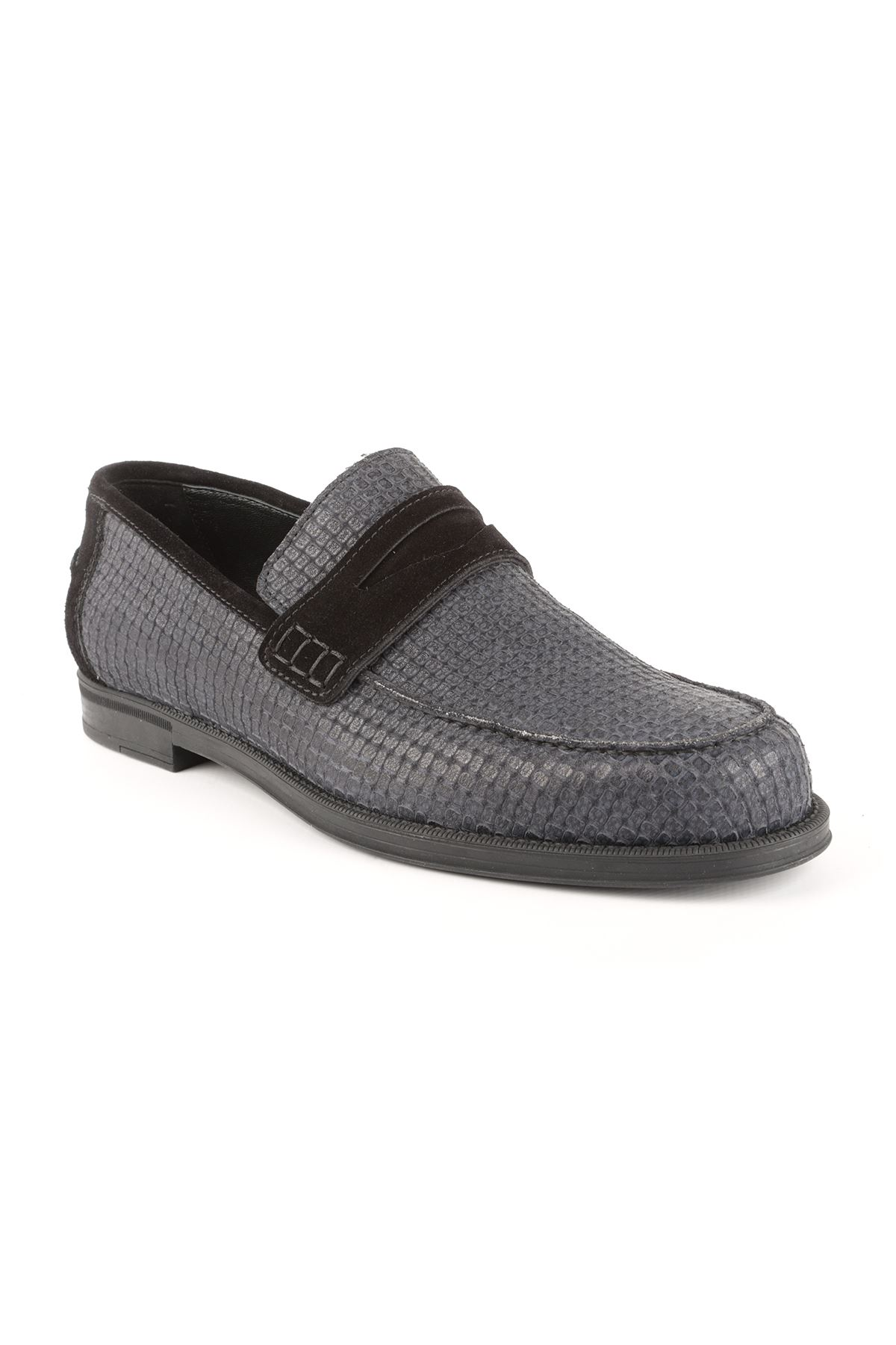 Libero T1412 Navy Blue Loafer Shoes