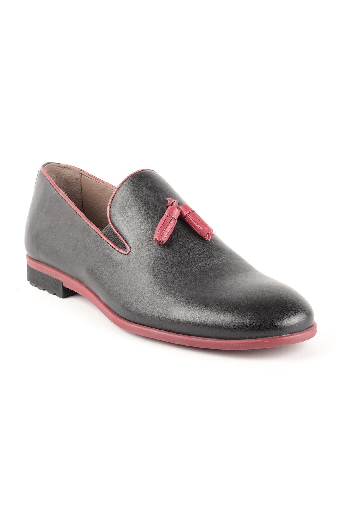 Libero T1434 Black Oxford Shoes