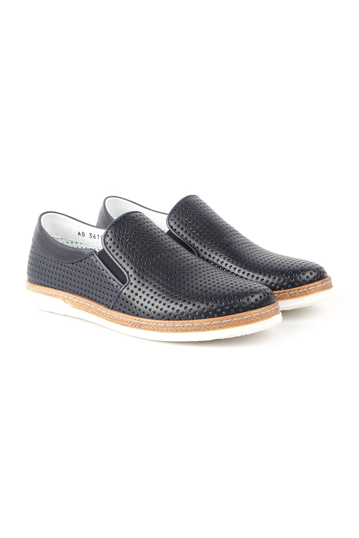 Libero L3619 Lacivert Loafer Erkek Ayakkabı