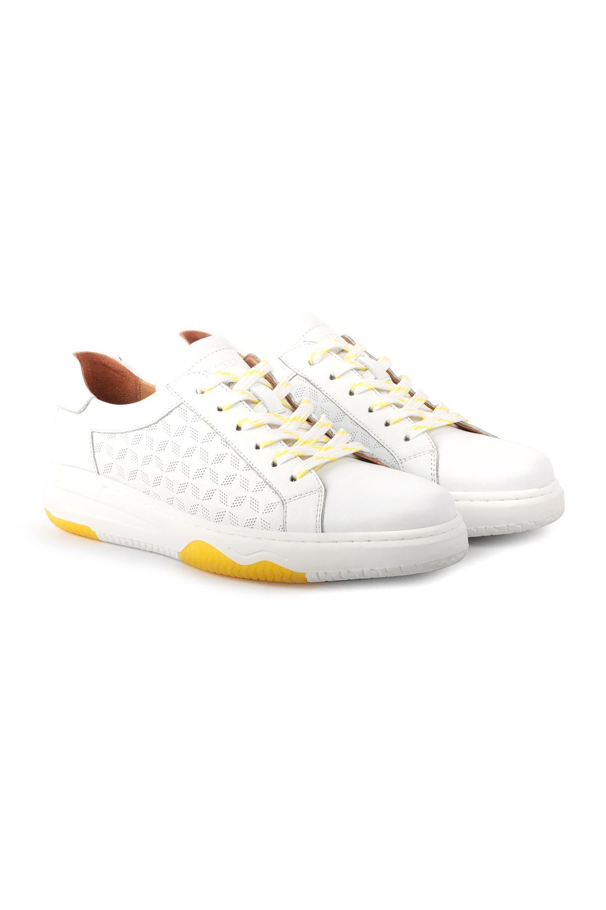 Libero L3751 White Casual Men Shoes