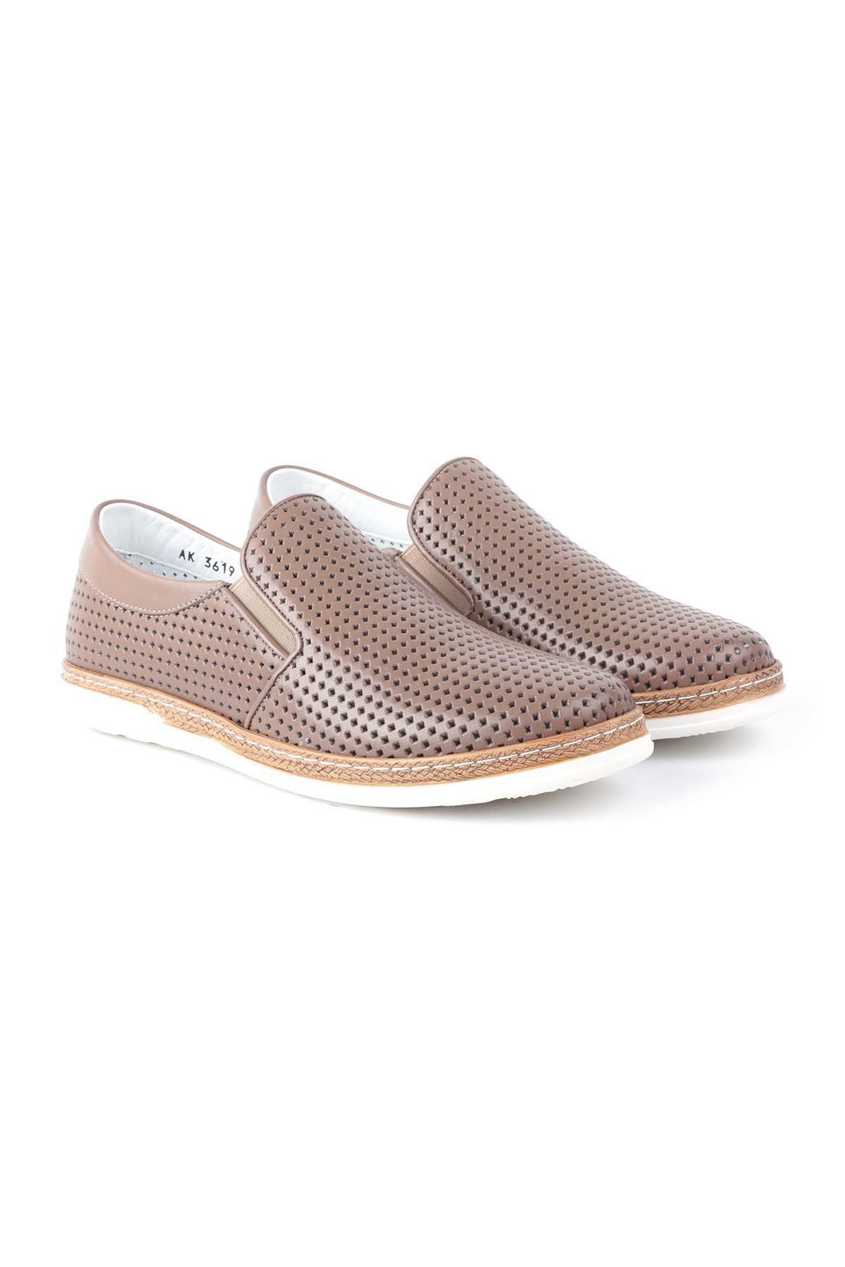 Libero L3619 Vizon Loafer Erkek Ayakkabı