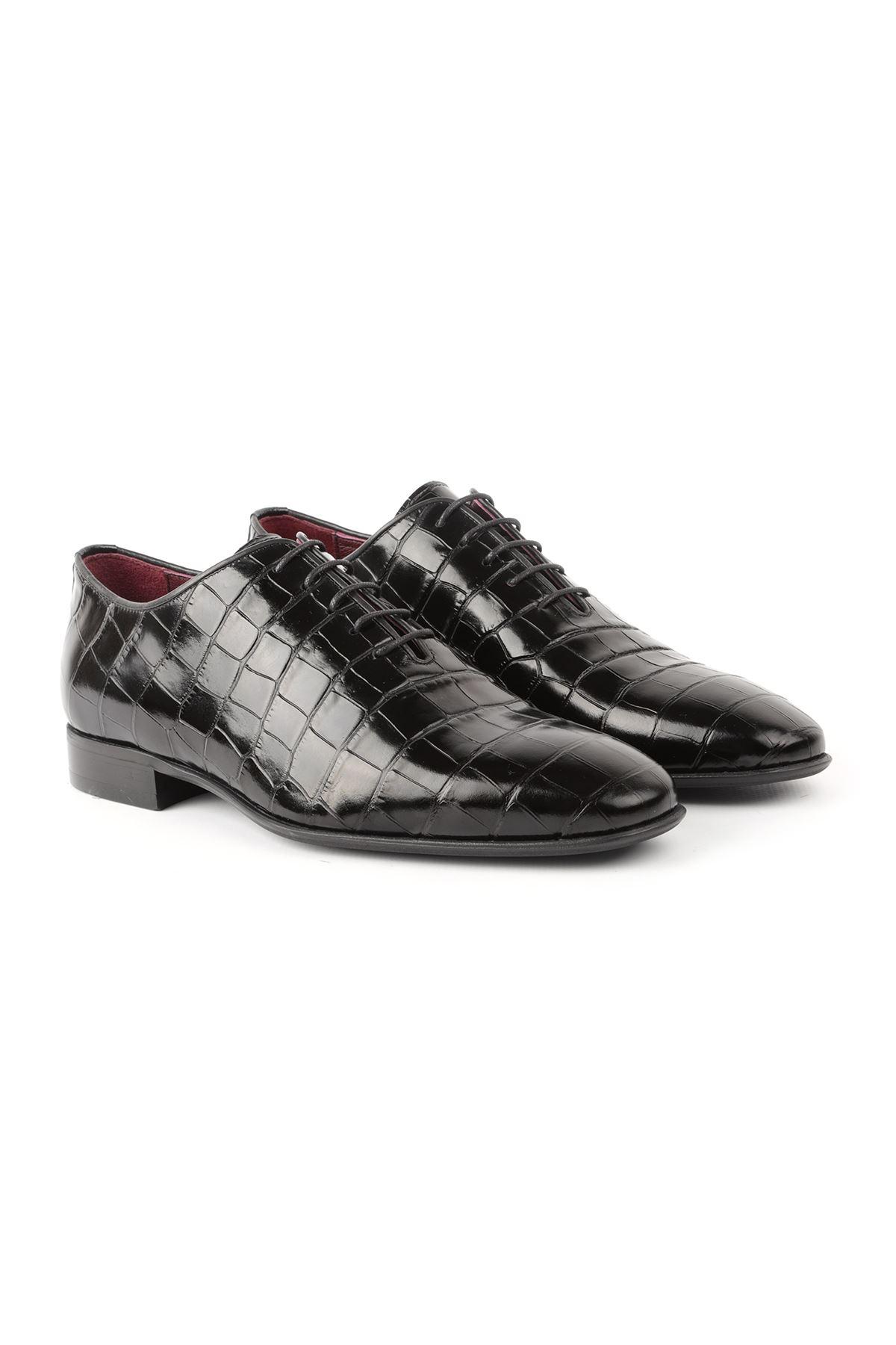 Libero L3766 Black Classic Men Shoes