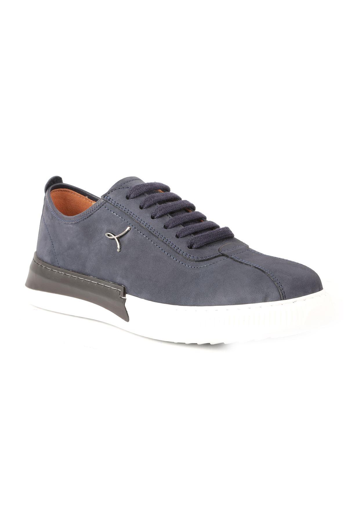 Libero L3674 Navy Blue Men Sport Shoes