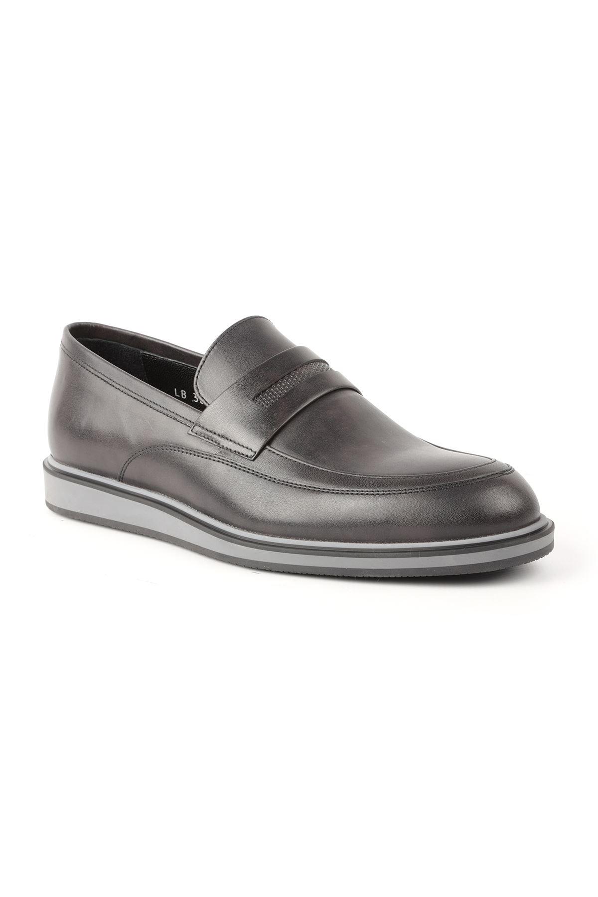 Libero L3668 Siyah Loafer Erkek Ayakkabı