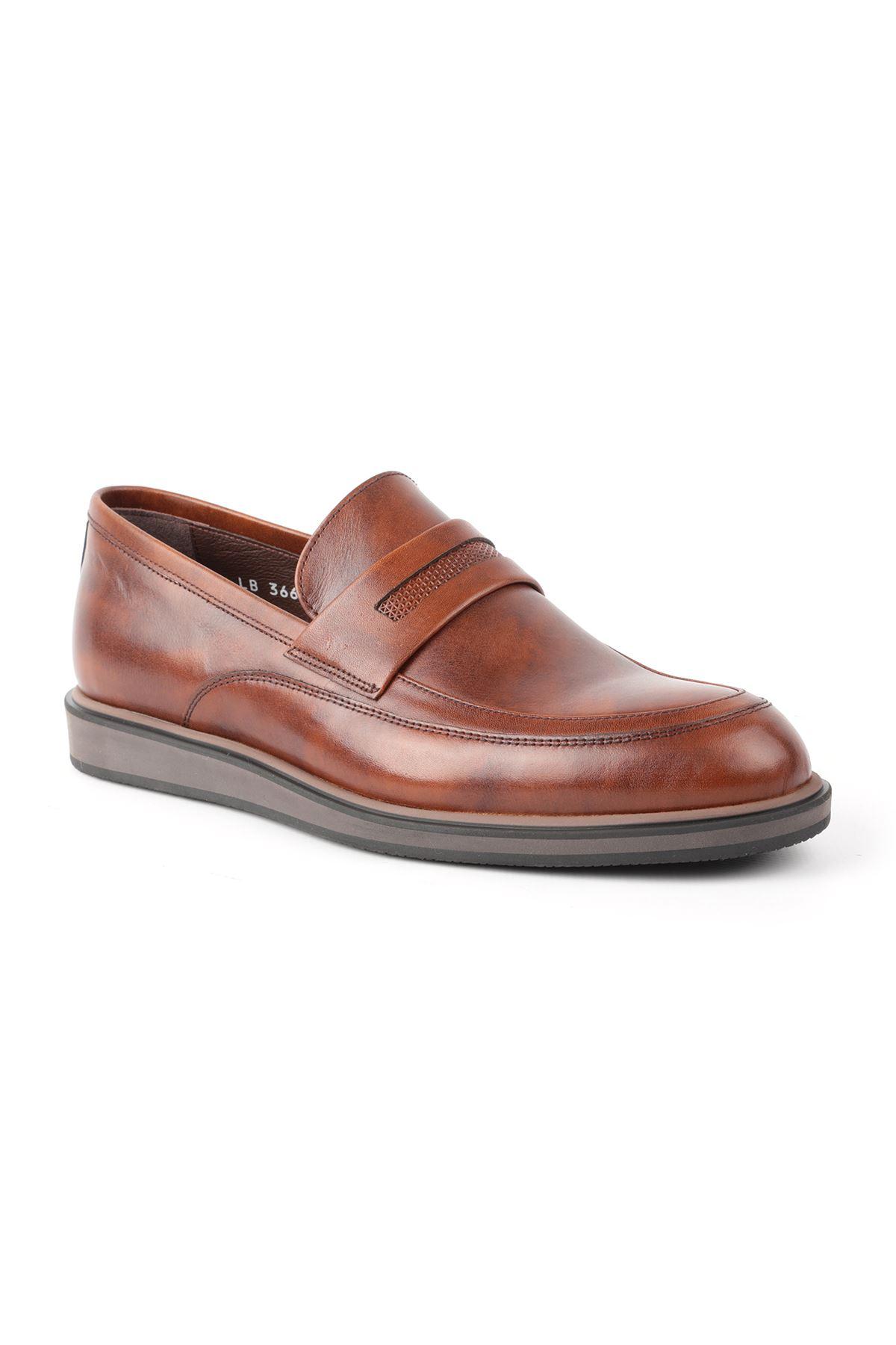 Libero L3668 Taba Loafer Erkek Ayakkabı