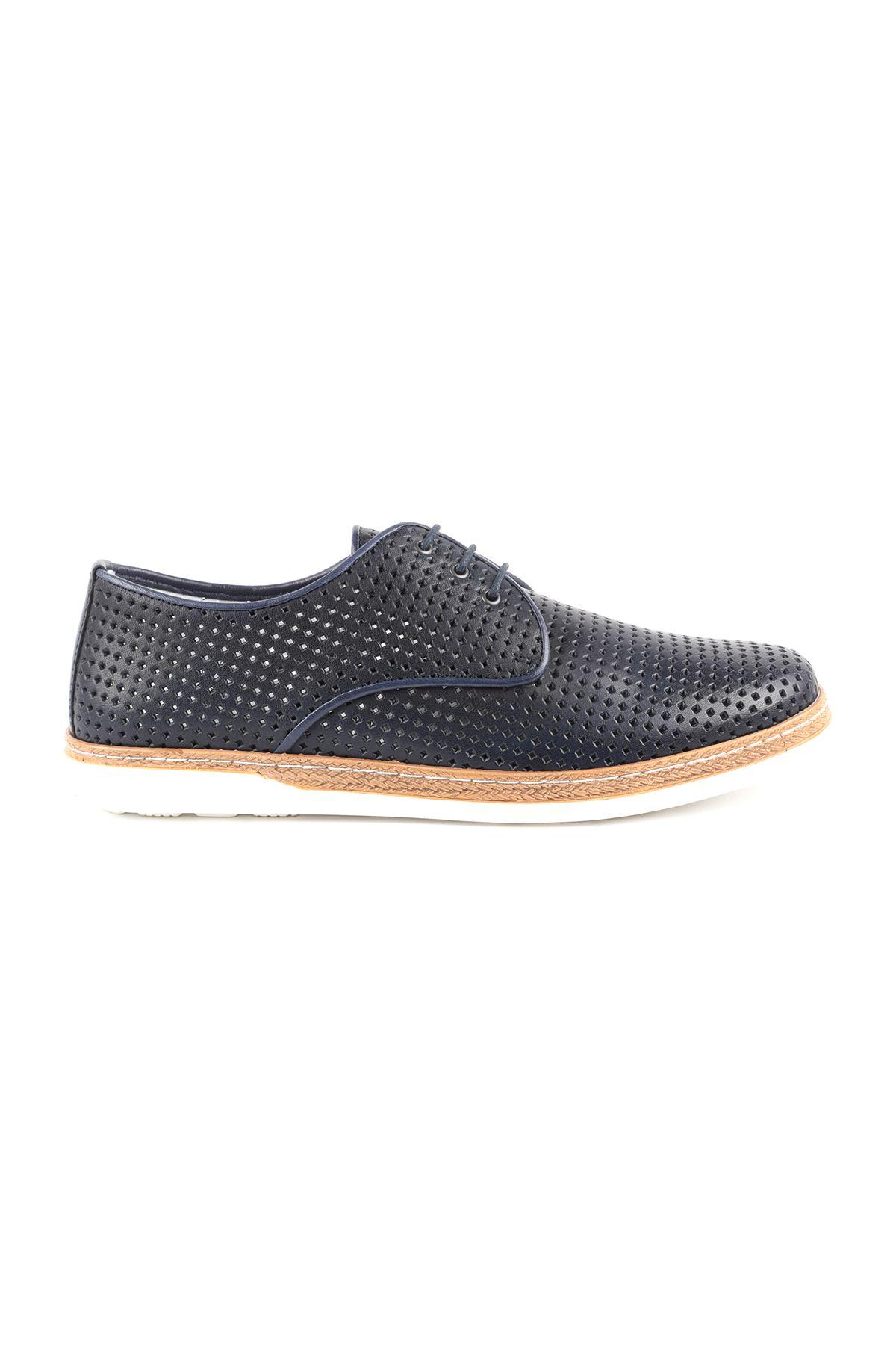Libero L3609 Navy Blue Casual Men Shoes