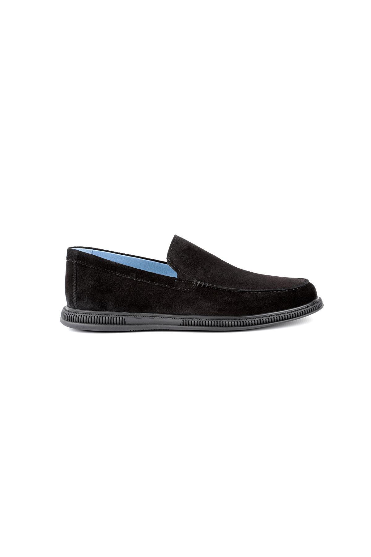 Libero L3635 Black Loafer Men's Shoes