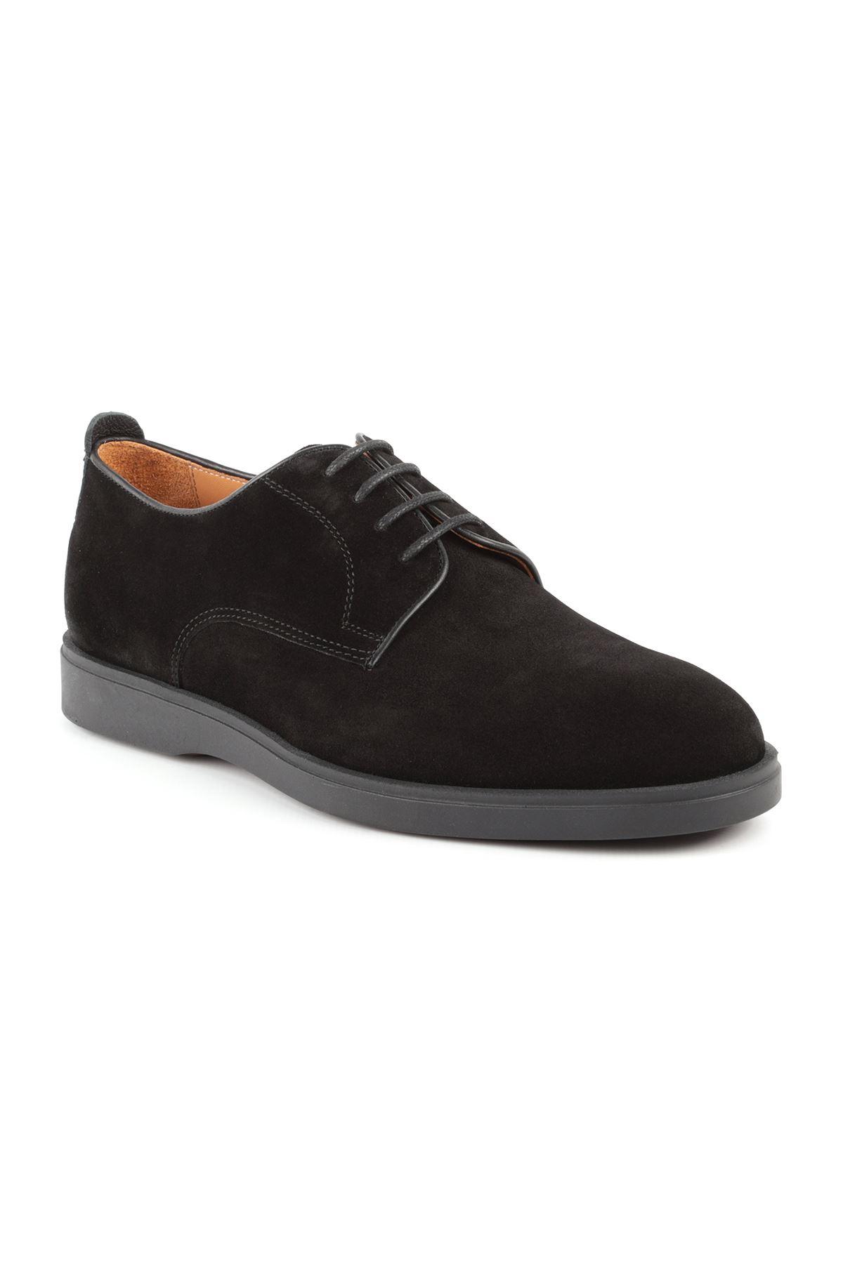 Libero L3647 Siyah Süet Erkek Ayakkabı