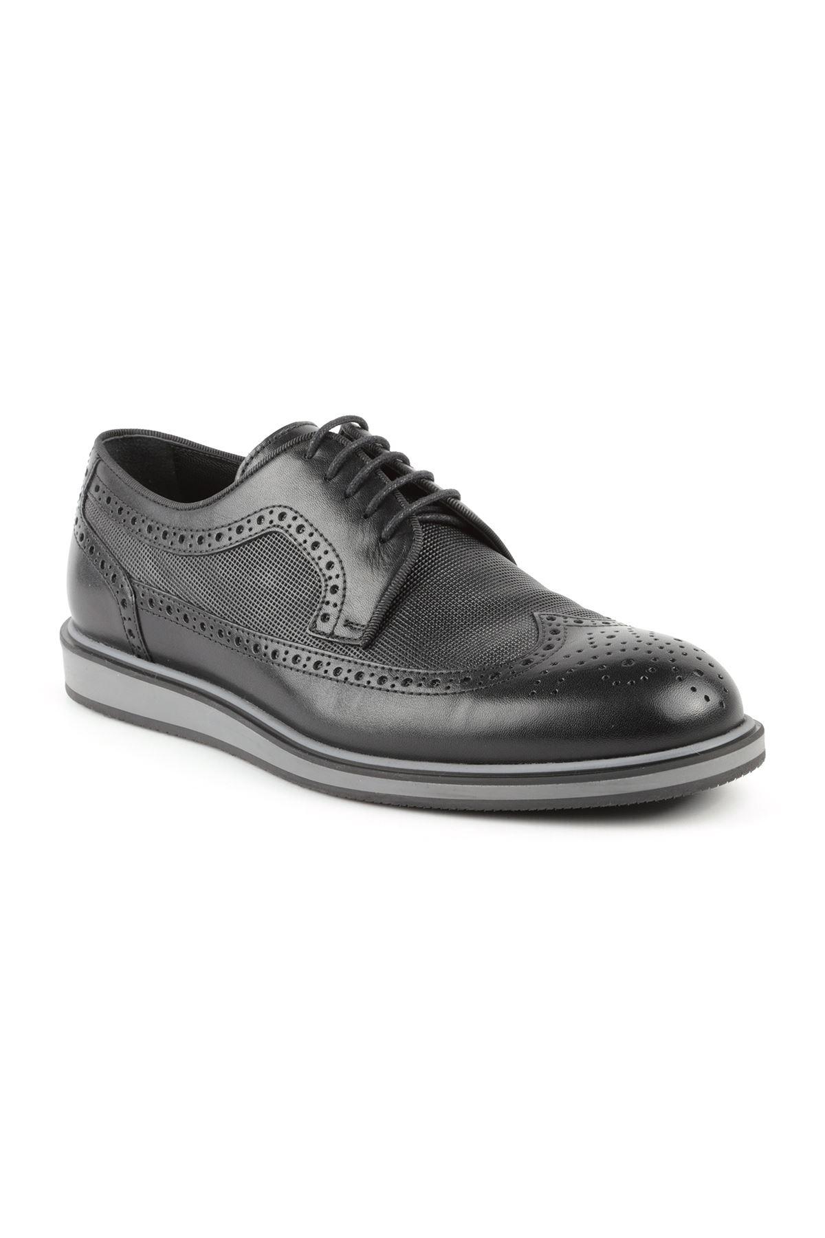 Libero L3722 Siyah Oxford Ayakkabı
