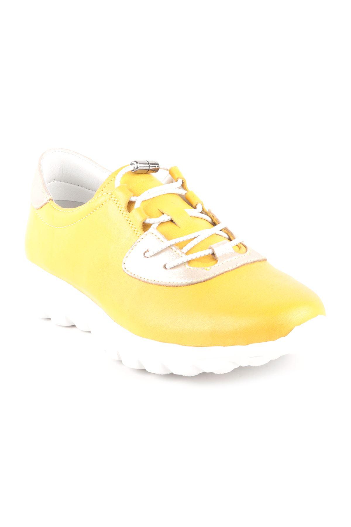 Libero Dİ2017 Sarı Spor Ayakkabı