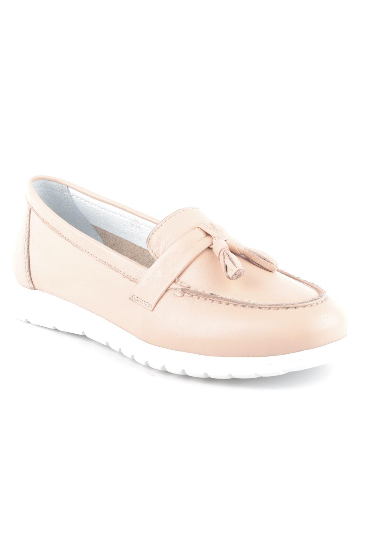Libero L04.402 Vizon Loafer Ayakkabı