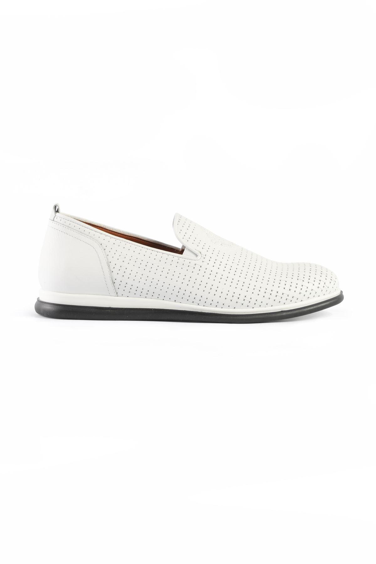 Libero L3282 Beyaz Loafer Ayakkabı
