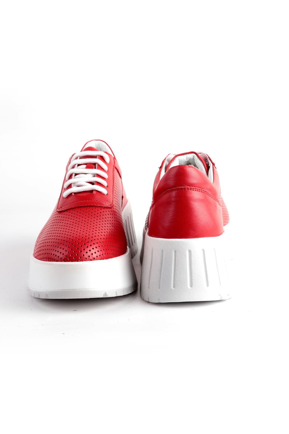 Libero L08.1039 Kırmızı Spor Ayakkabı